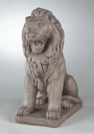 4070 LARGE SITTING LION