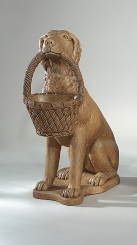 "2204 32"" RETRIEVER WITH BASKET (left )"