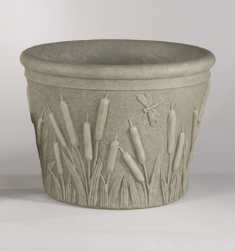 6026 SMALL CATTAIL PLANTER