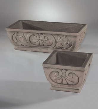 #6430 LARGE NORMANDY PLANTER