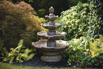 #3415 SMALL FOUR TIER FOUNTAIN