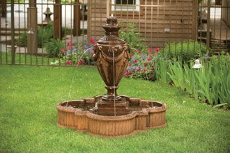 "#3497 48"" TIVOLI URN POOL FOUNTAIN"