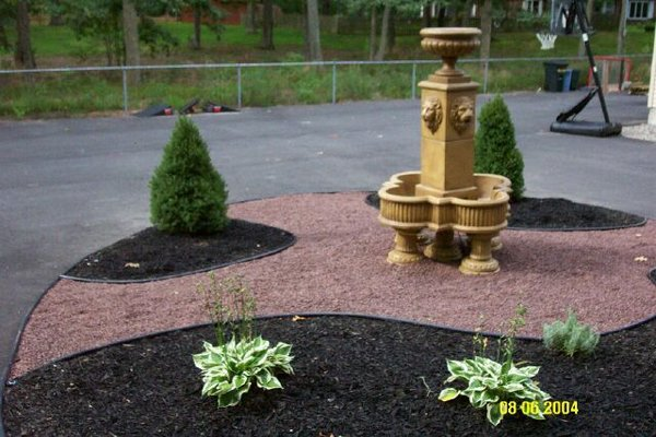 #2 Milano Urn Fountain on Pedestals