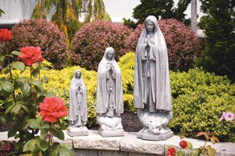 "#116036 34"" Our Lady of Fatima"