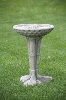 #9731 ONE PIECE GOLF CLUB BIRD BATH