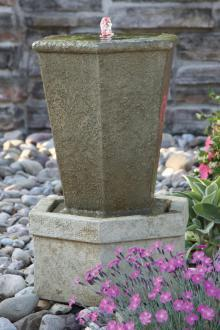 #3864 Fountainette - Tuscan Hex Urn