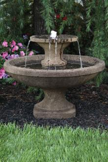 "#3861 23"" Two Tier Bella Fountain"