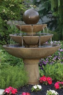 "#3696 55"" Tranquility Sphere Spill Fountain"