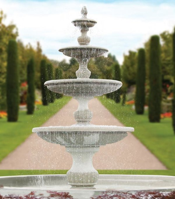 "#3794NP 186"" Four Tier Savona Fountain (No Pool)"