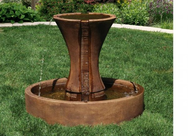 "#3791 30"" Candia Fluted Fountain"