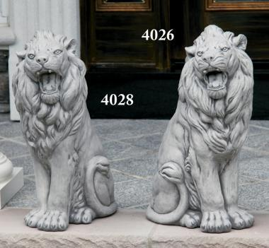 "#4028, 4026 24"" Sitting Lion - Left or Right"