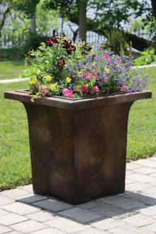 "#6552 24"" Meridian Box Planter"