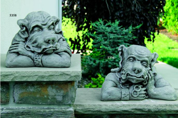 Gargoyle Bust Left and Right
