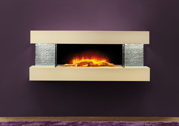 "48"" Vegas Petite Floating Fireplace"