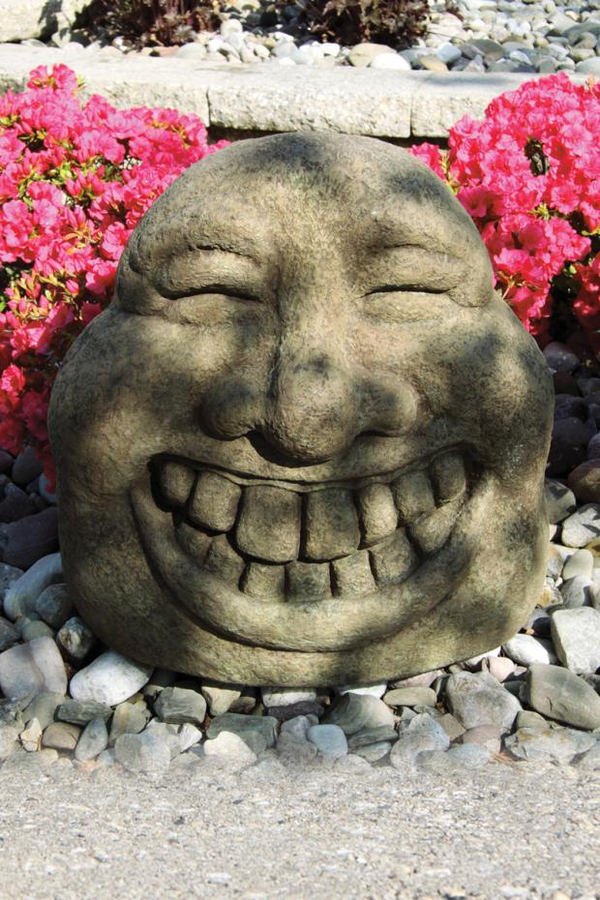 "#5722 20"" Laughing Garden Face"