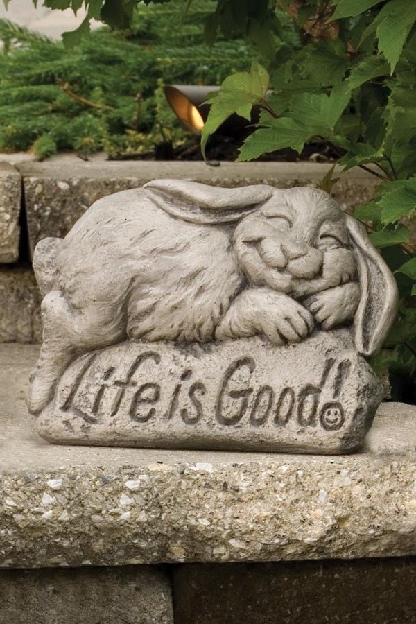 #2169 Life Is Good - Rabbit