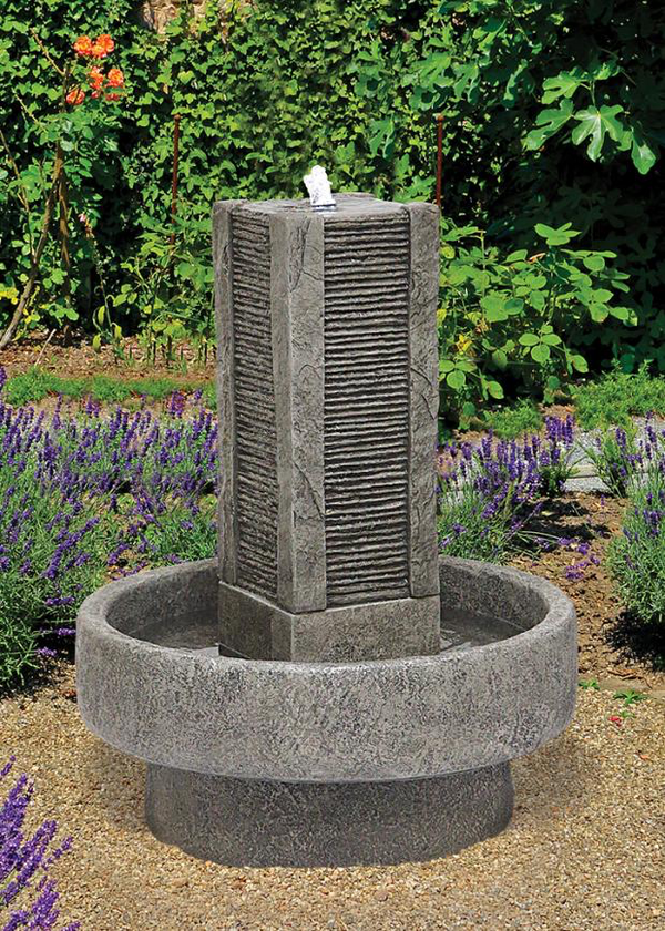 #3811 Slate Tower Fountain