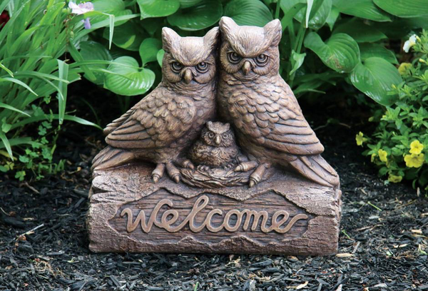 #2968 Welcome Owls