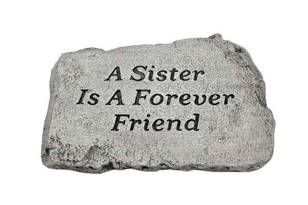 "#1803 10"" Stone - A Sister Is A Forever"