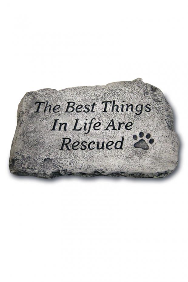 "#1809 The Best Things in Life: 10"" Garden Stone"