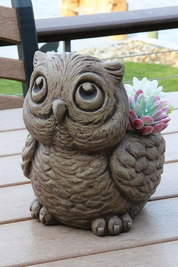#6598 Hoot The Owl Planter