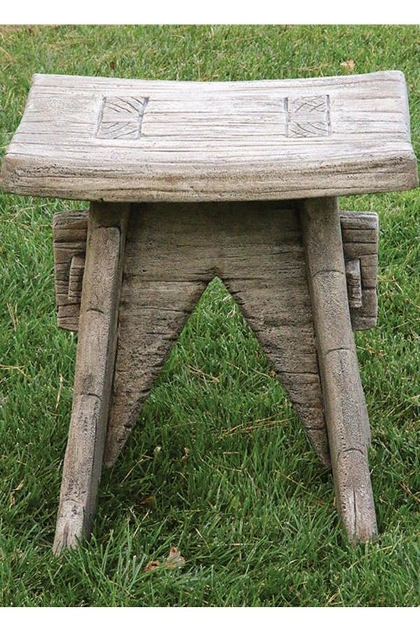 "#4178 22"" One Piece Rustic Seat"
