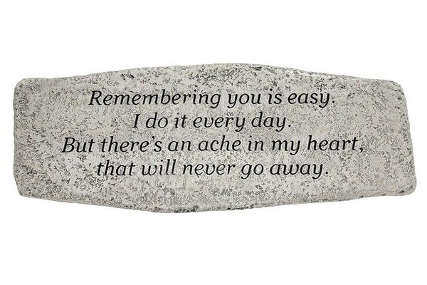 #4712 Bench - Remembering You Is Easy