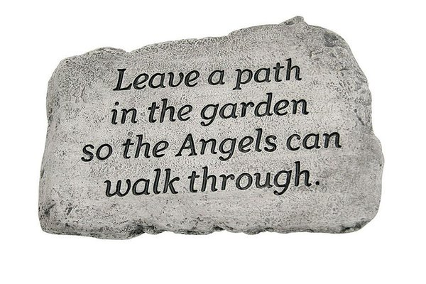 "#1782 10"" Stone - Leave A Path In The Garden"