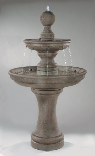 "#3593 62"" Opal Two Tier Fountain"