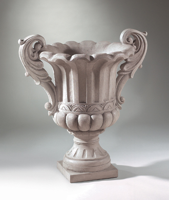 "6977 36"" DOUBLED HANDLED VERONA URN"