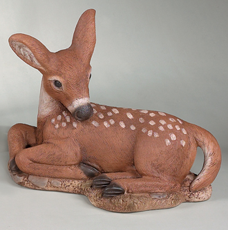 "2036 13"" LAYDOWN FAWN (HEAD DOWN)"