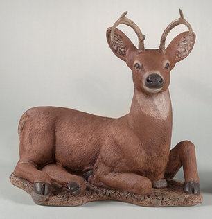 "2031 22"" LAYDOWN DEER"