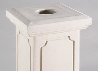 "#4772 27"" BALUSTER END COLUMN (Cap sold separately)"