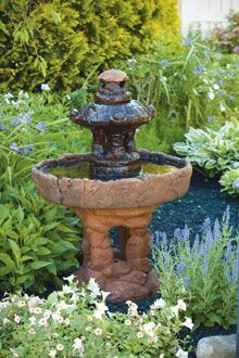 "#3465 42"" SMALL PAGODA FOUNTAIN"