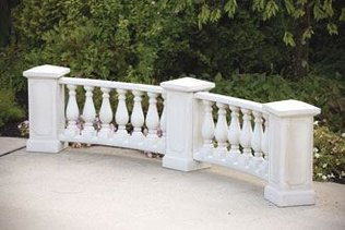 #4798 CURVED BALUSTER RAIL