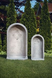 "#1425 ROUND GROTTO FOR 36"" STATUE"