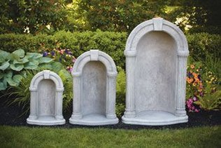 "#1120 26"" KEYSTONE GROTTO FOR 18"" STATUE"