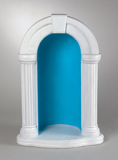 "#1135 52"" KEYSTONE GROTTO FOR 36"" STATUE"