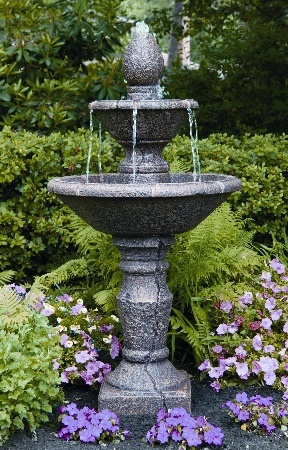 "3745  56"" TWO TIER CORTONA FOUNTAIN"