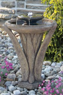 "#3501 27"" Two Tier Meadows Glow Fountain"