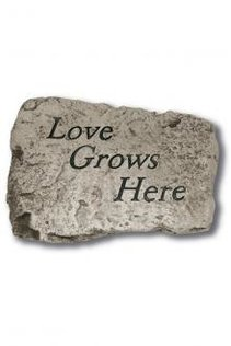 "10"" Garden Greetings Stones (Click fore More Stones)"