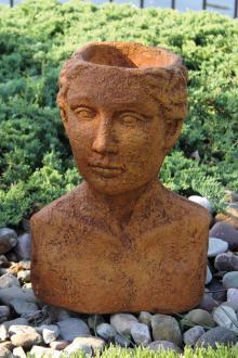 Bust Planter - Woman